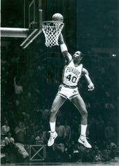Purdue center Russell Cross lived up to his McDonald?s and Parade All-American high school credentials.