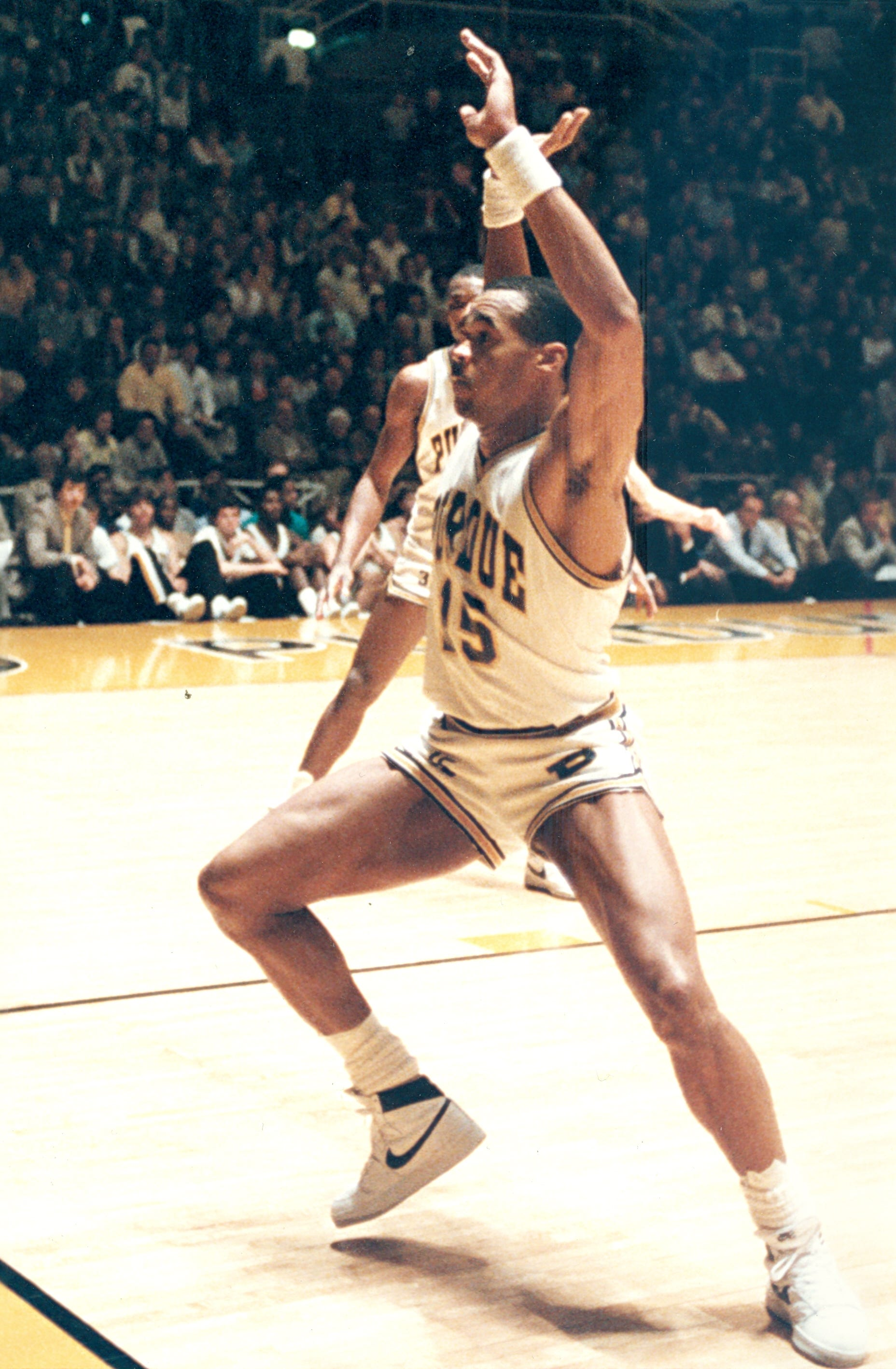 James Bullock led Purdue in scoring and rebounding during his senior season in 1984-85.