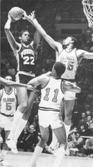 Joe Barry Carroll was too much for St. John?s during a 1980 NCAA tournament game in Mackey Arena.