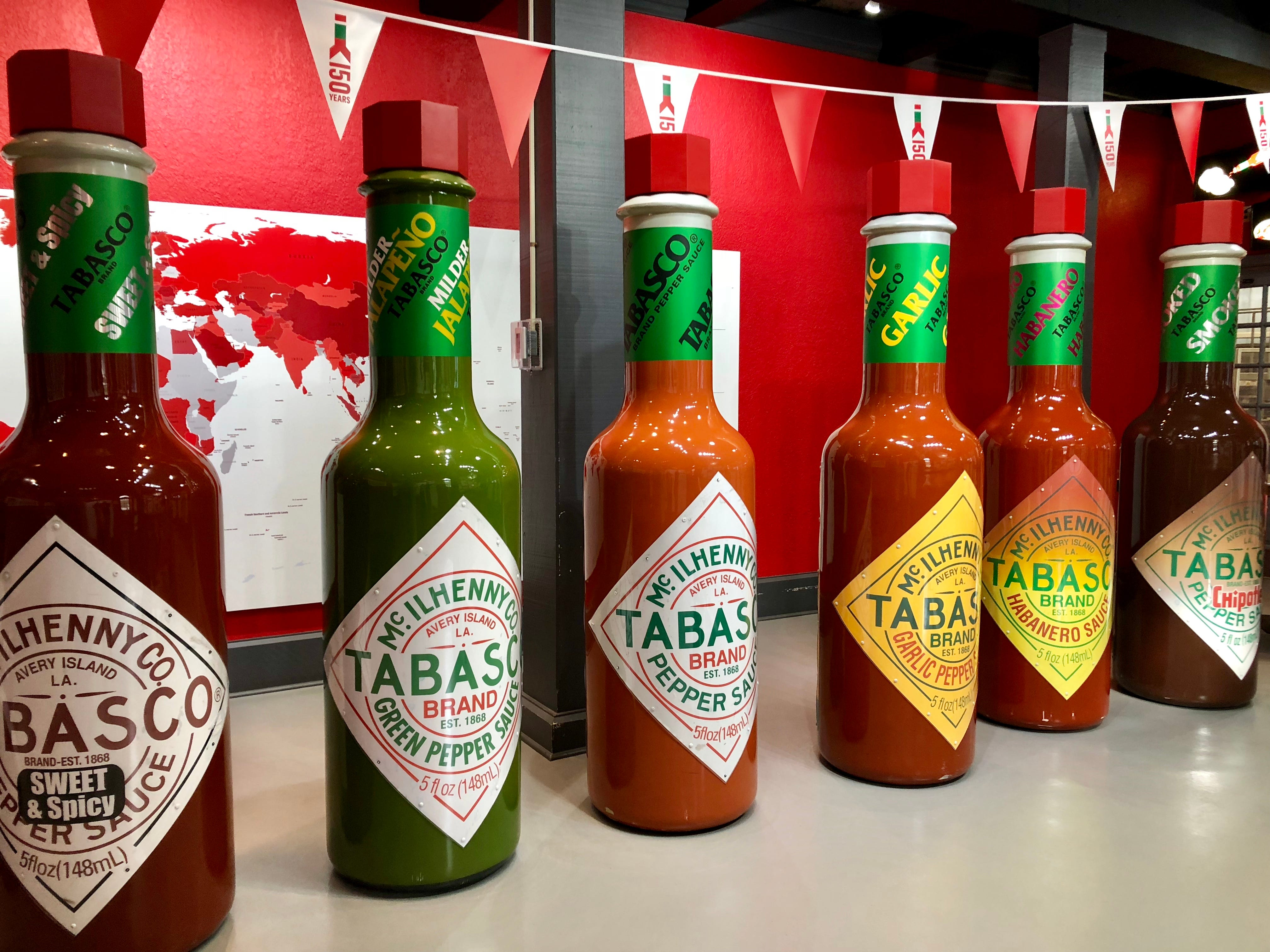 Visitors can learn how Tabasco is made with tours of the plant at Avery Island.