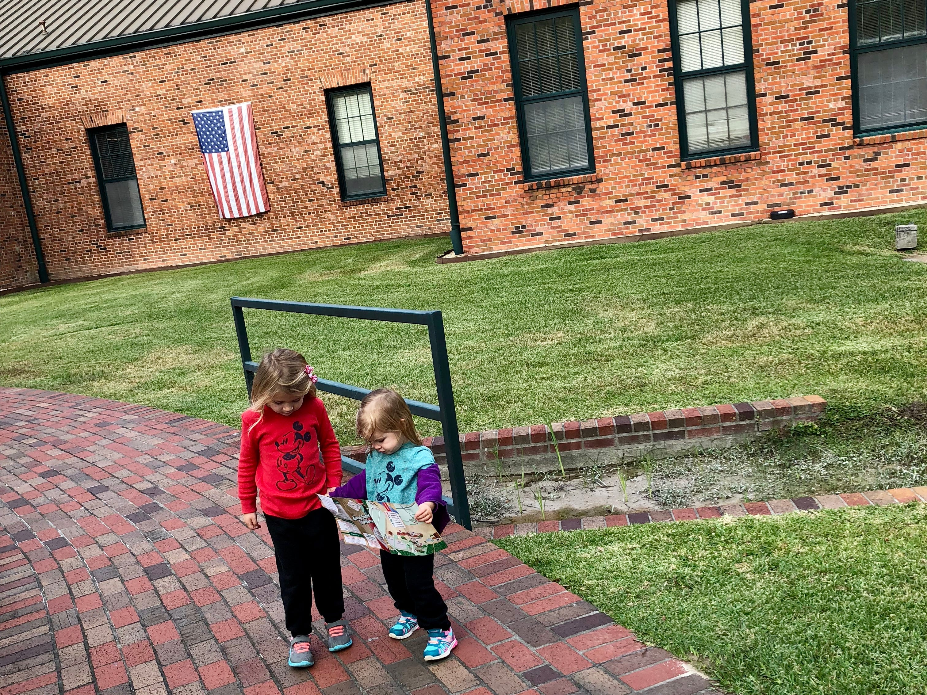 Avery and Marie Guidry take a tour of the Tabasco plant at Avery Island.