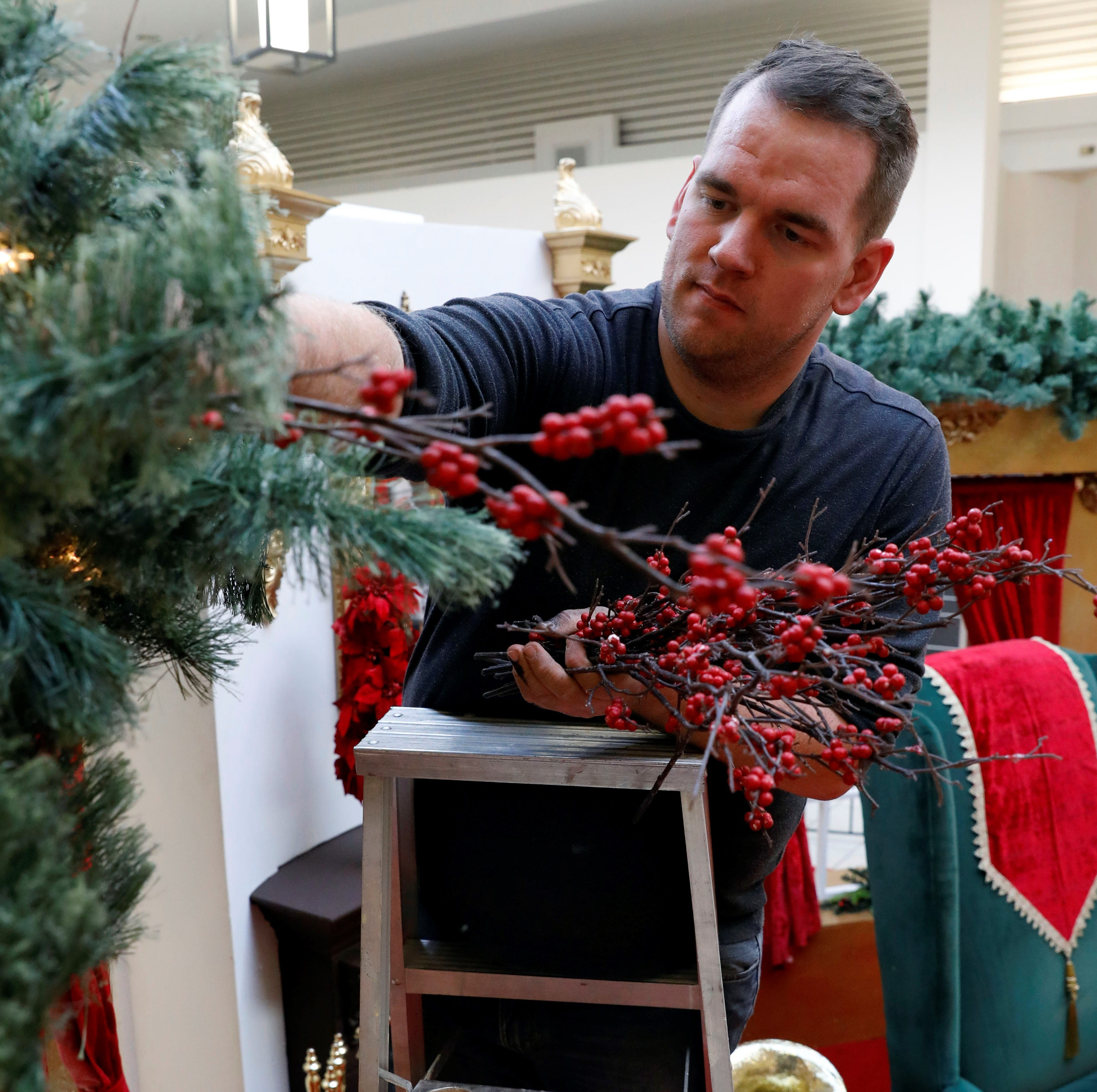 A dream comes true: Caleb McCarthy heads to the White House to decorate for the holidays