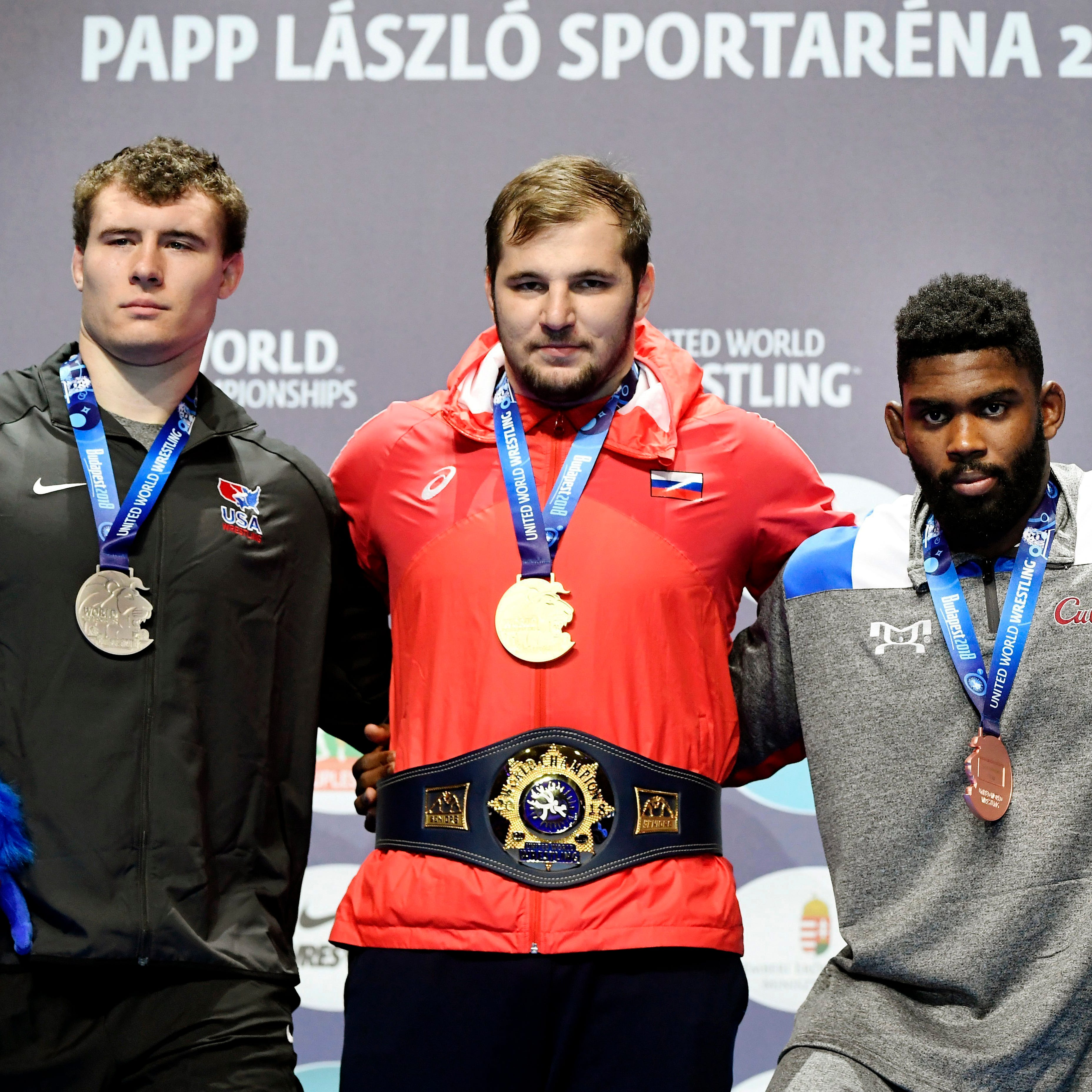 Former Fowlerville wrestling teammates reconnected at world championships