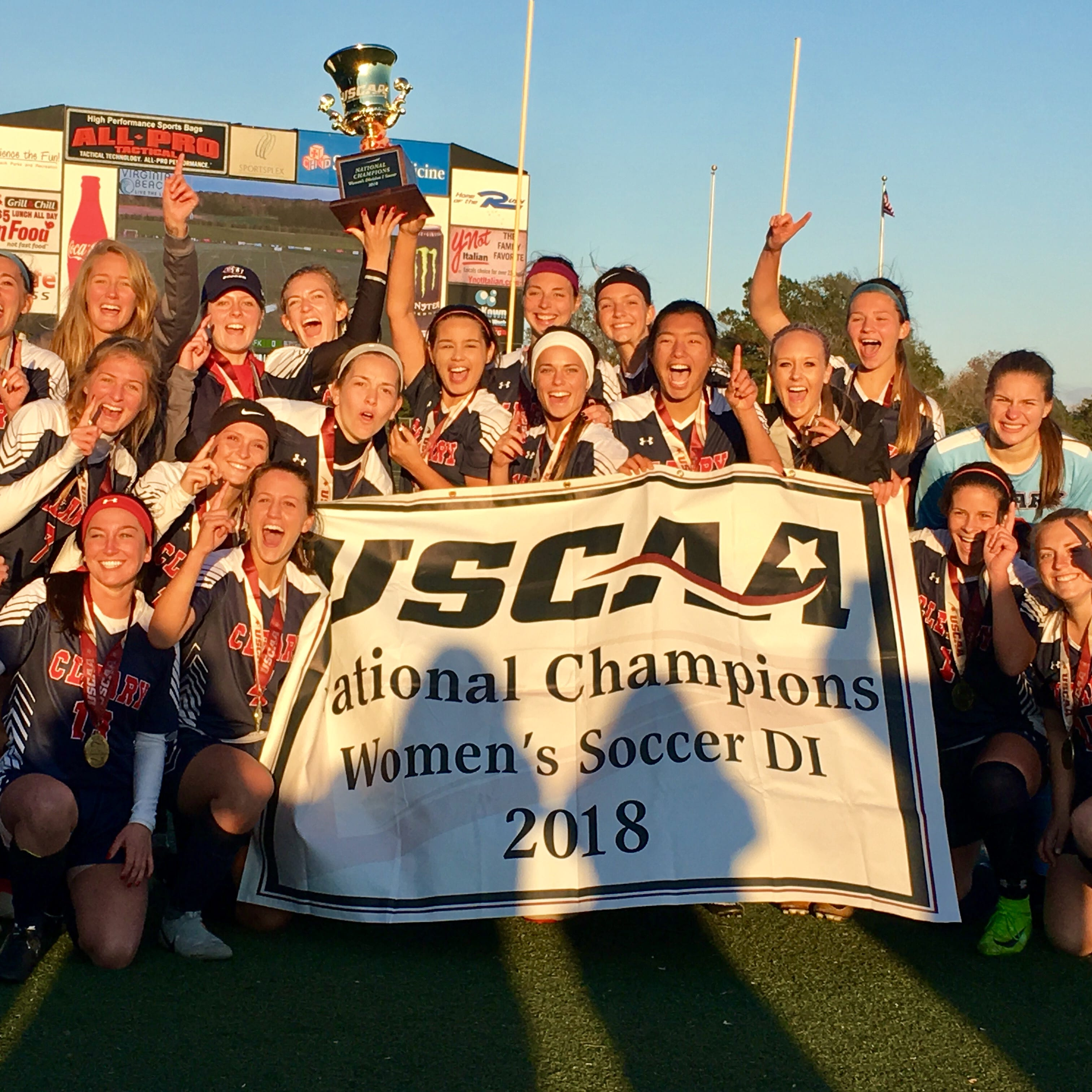 Cleary University women's soccer team wins national championship