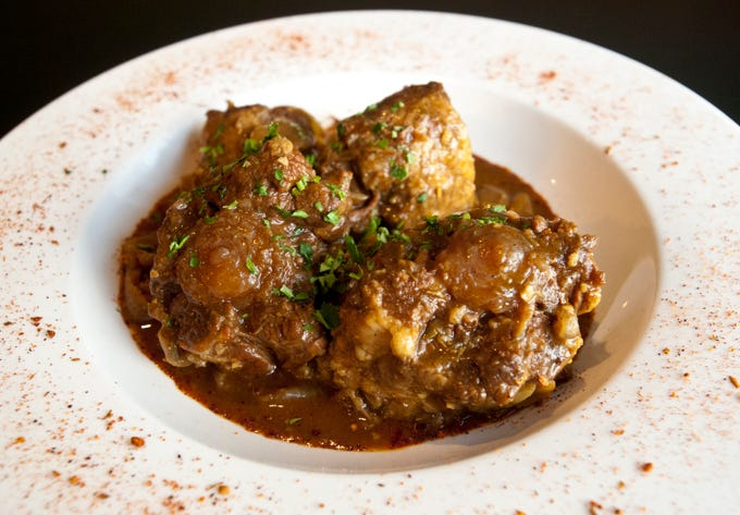 The Flavour Restaurant's back country oxtails, Trinidad style are made with oxtails slow cooked for 5 1/2 hours with Caribbean seasonings and onions.November 08, 2018