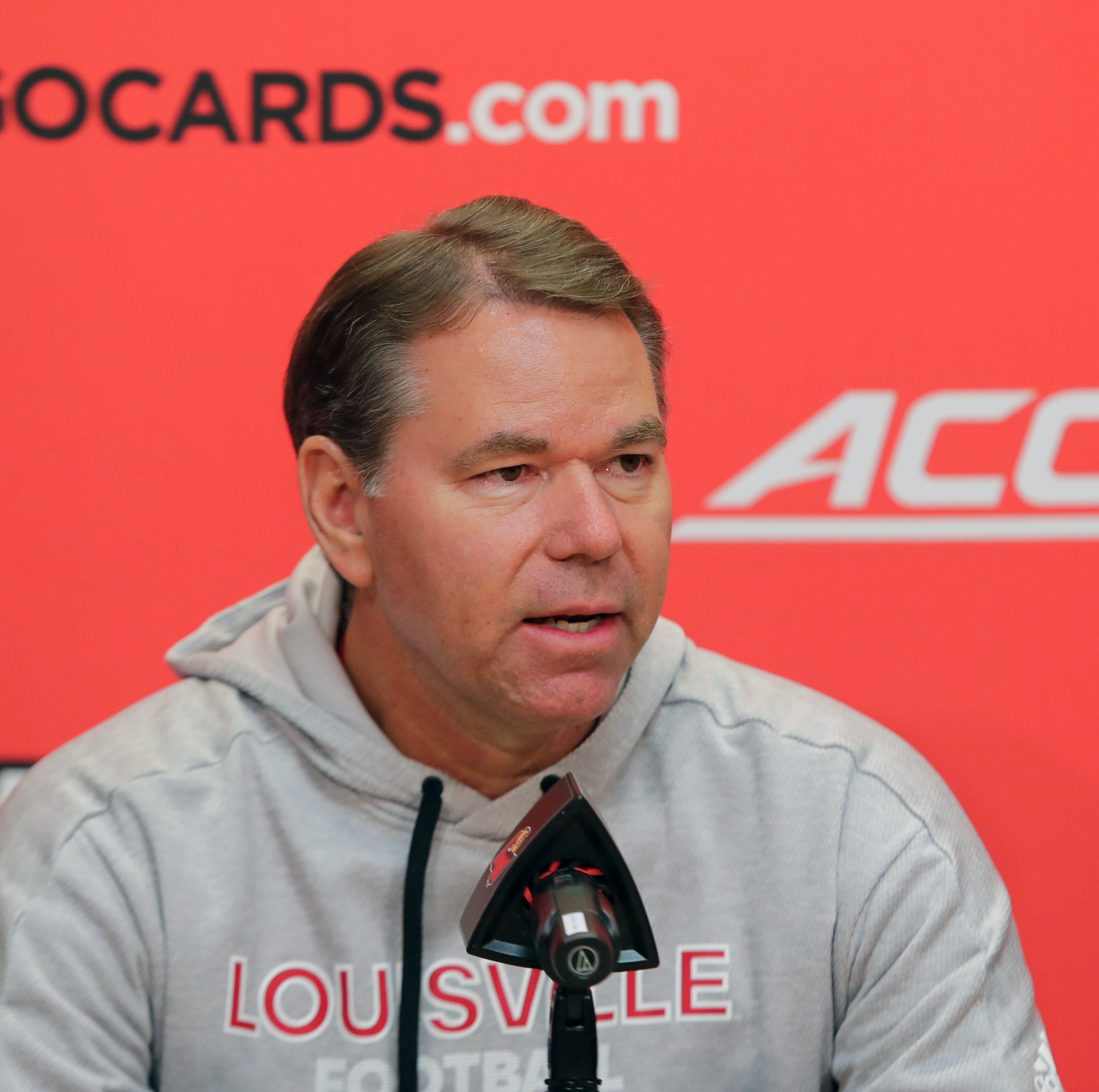 Louisville athletic director Vince Tyra is wary of a buyout trap
