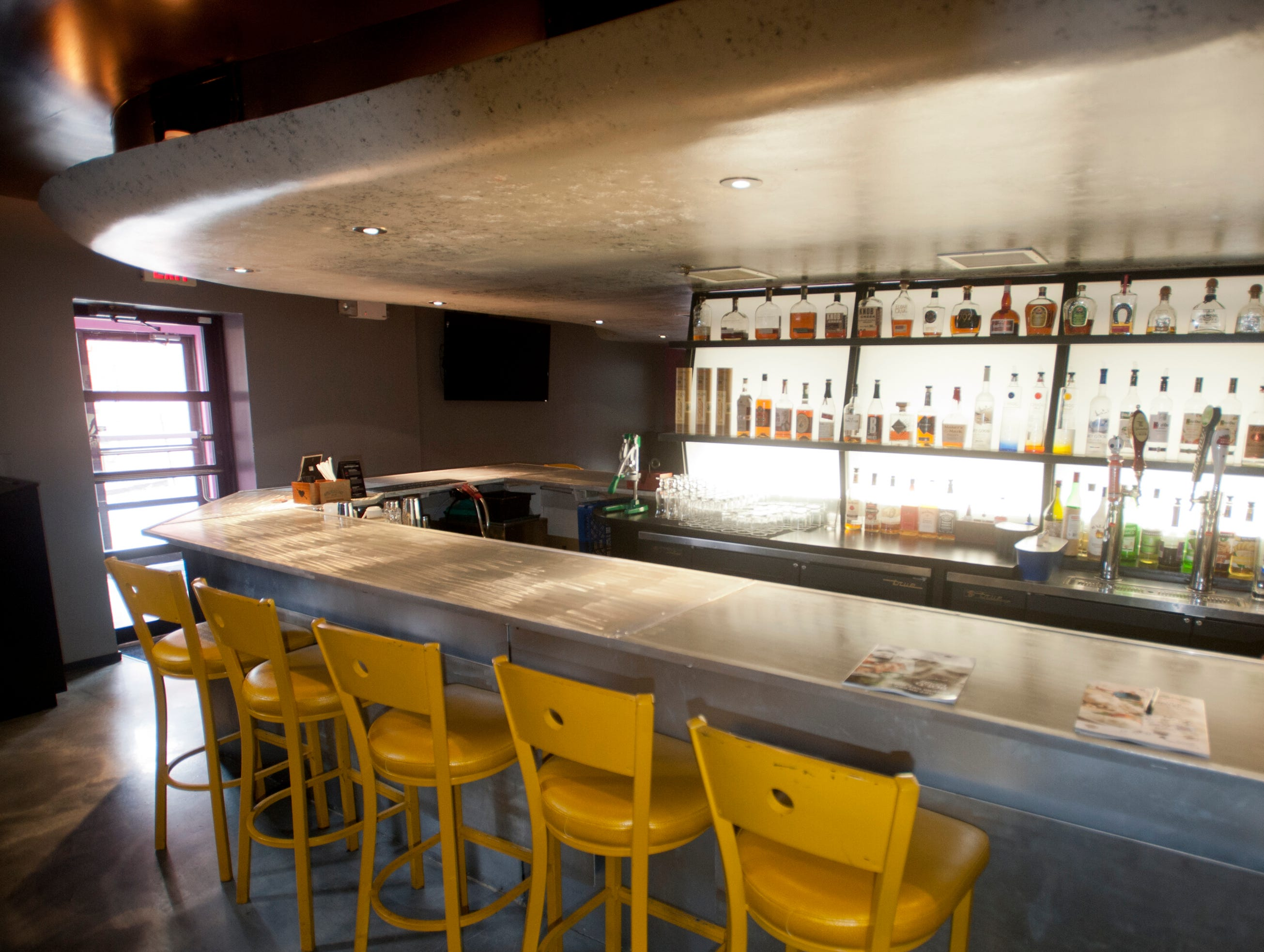 The bar in the Flavour Restaurant and Lounge on Bardstown Road.November 08, 2018