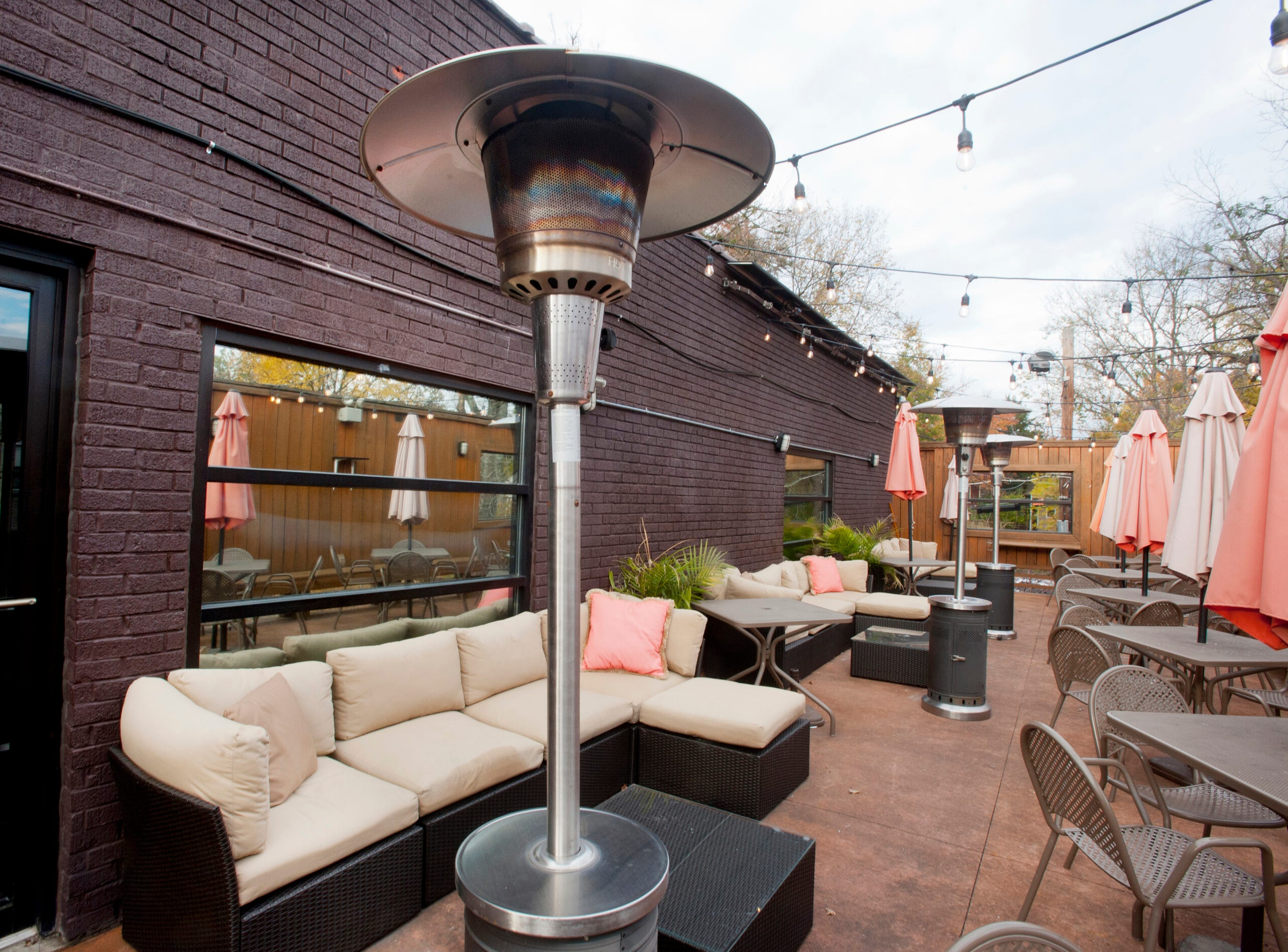 The terrace area of the Flavour Restaurant and Lounge on Bardstown Road.November 08, 2018