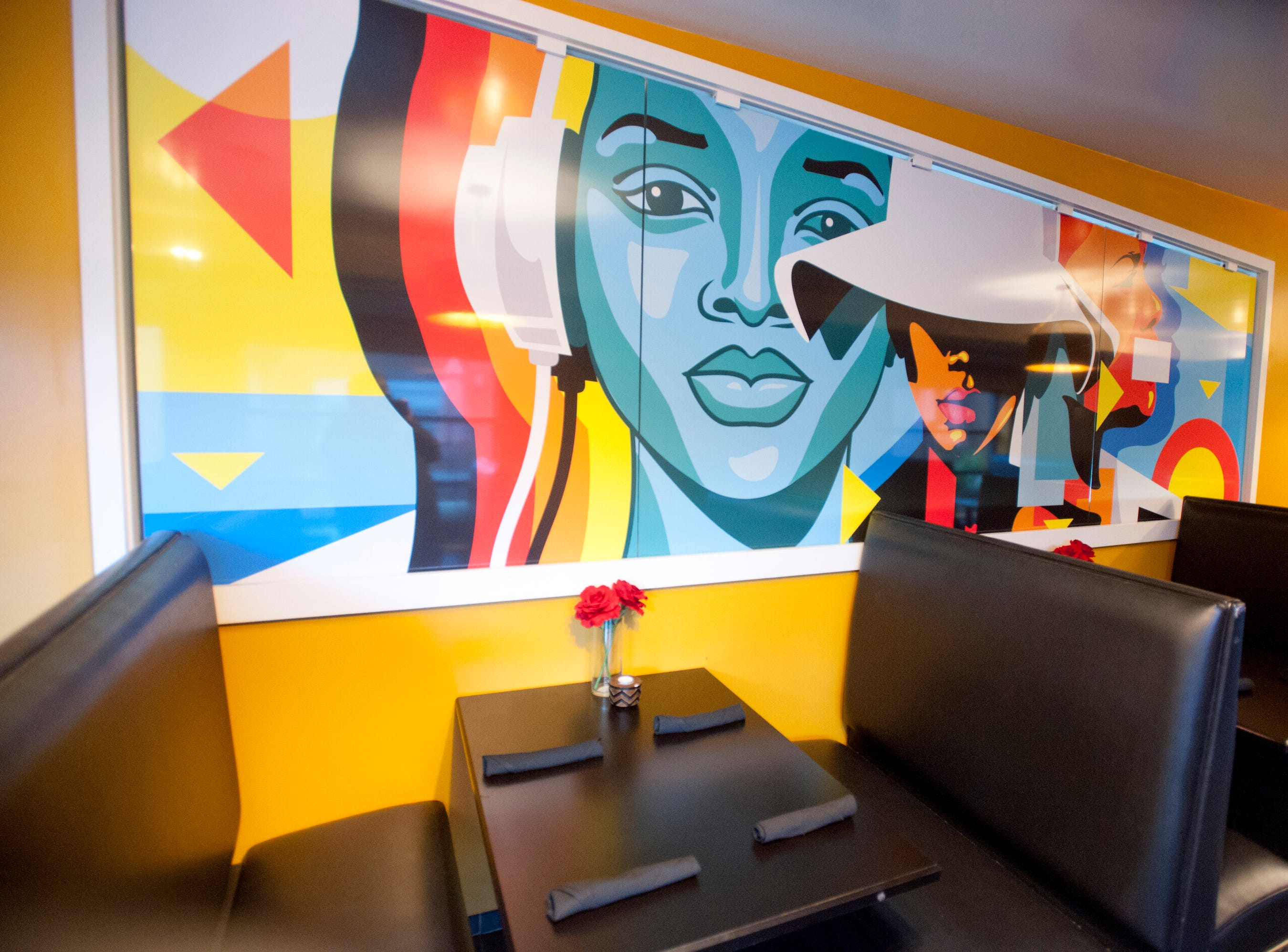 One of the dining rooms in the Flavour Restaurant and Lounge on Bardstown Road.November 08, 2018