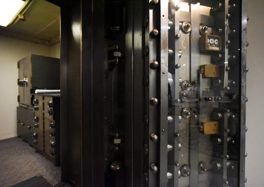 A bank vault at the offices of Doolittle & Associates - An Ameriprise Financial Services, Inc. practice at 122 S. Cochran Ave. in downtown Charlotte on Monday, Nov. 12, 2018.