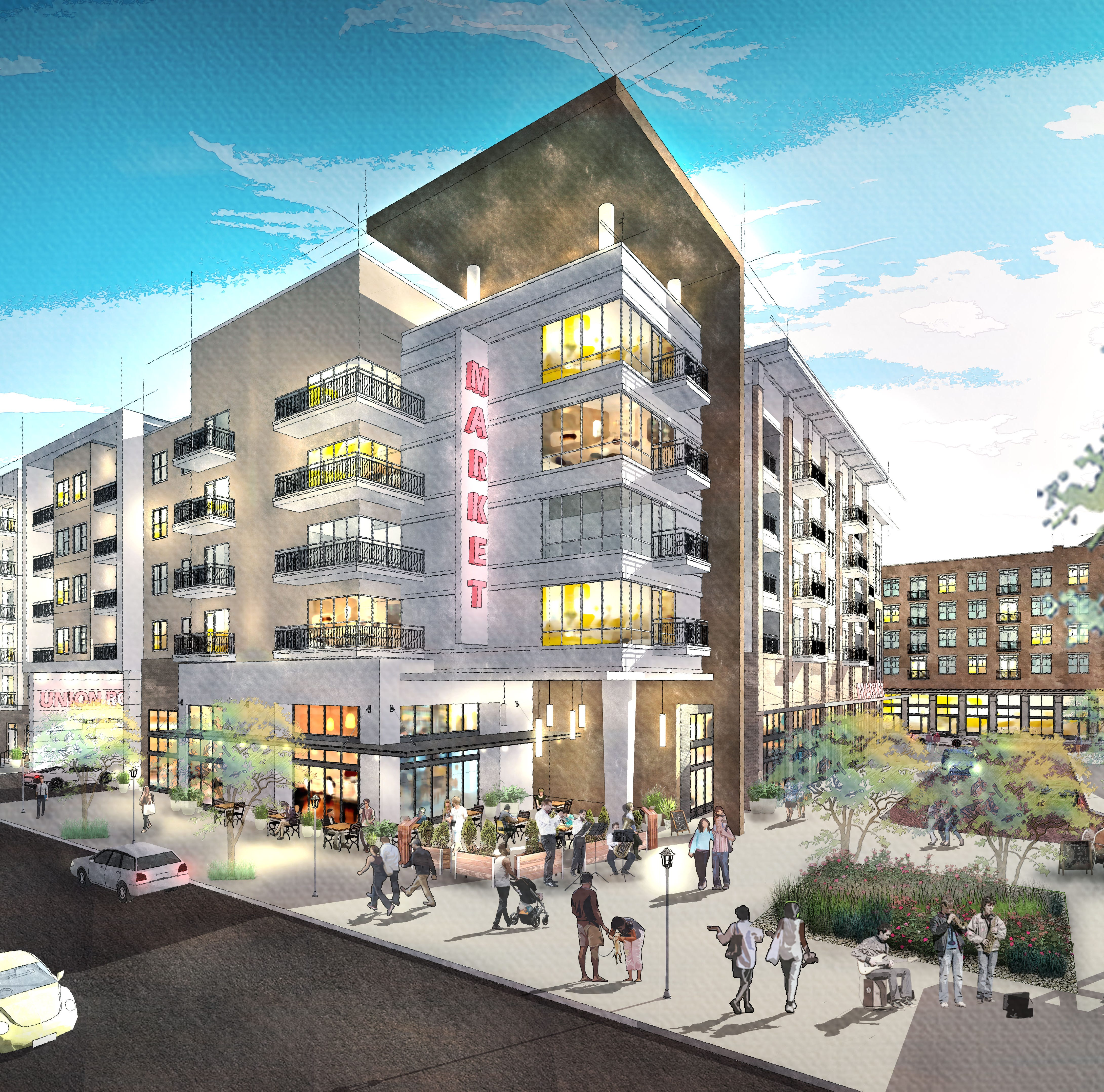 5 things to know about Union Row, a $950M development in Downtown Memphis
