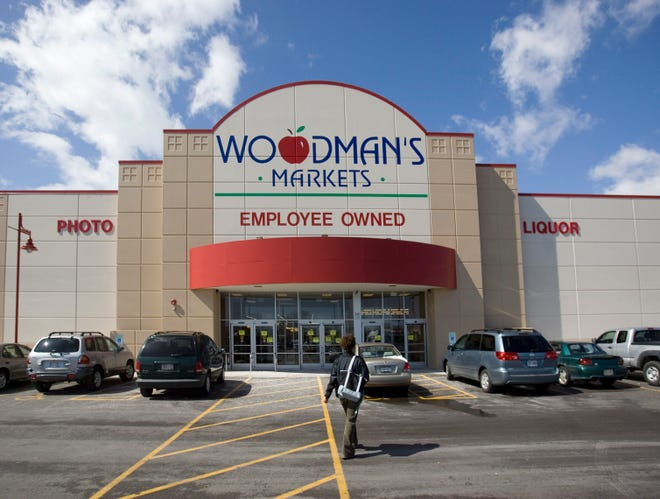 This is the Woodman's store on Howell Avenue in Oak Creek as it appeared shortly after opening in 2008.