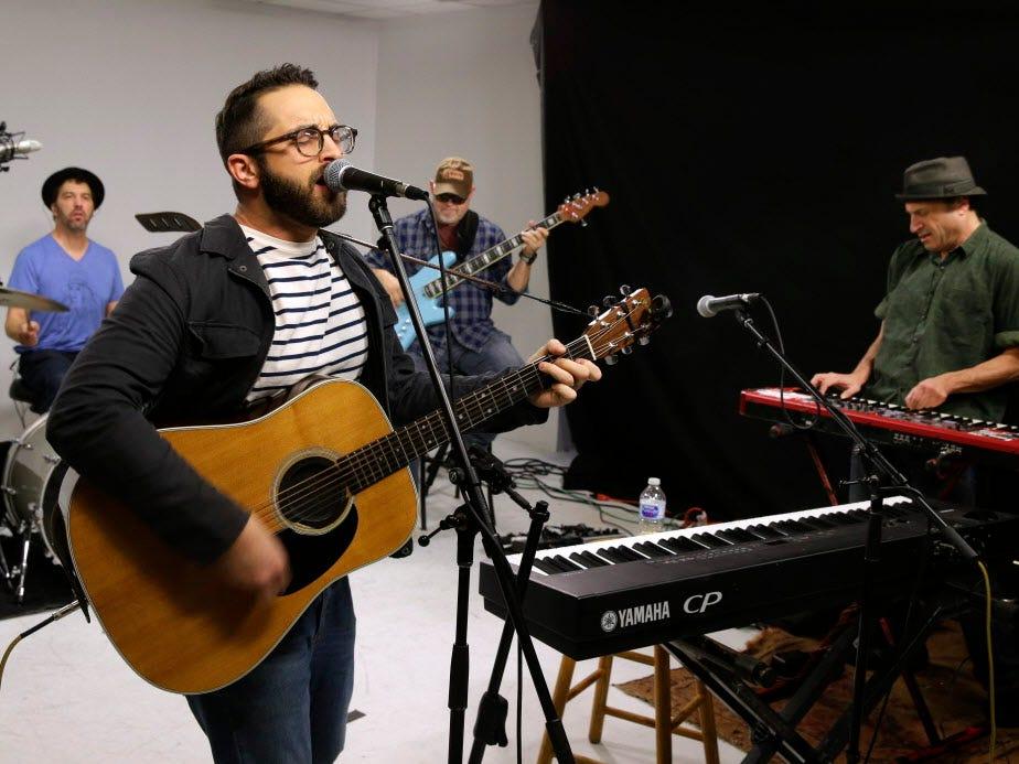 Milwaukee musician Joe Richter bounces back from 'rock bottom' with first band, album