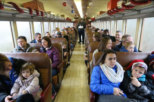 The East Troy Electric Railroad has a couple of dinner trains running in May.