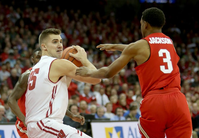 Senior forward Alex Illikainen has decided to leave the Badgers basketball program but remain at UW to finish his degree.