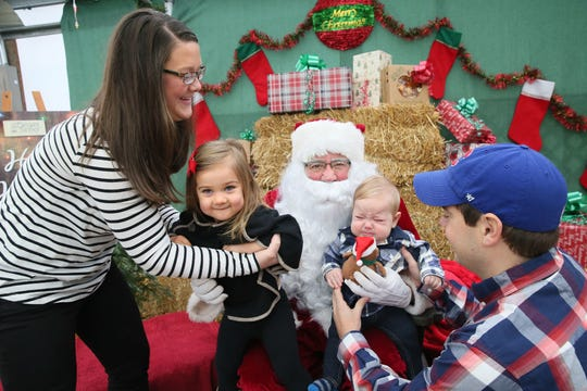 The East Troy Railroad Museum's Christmas Trains travel to Santa's Workshop at The Elegant Farmer in Mukwonago, and back.
