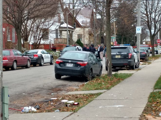 Police say a nonfatal shooting took place in the 3500 block of West Clarke Street.