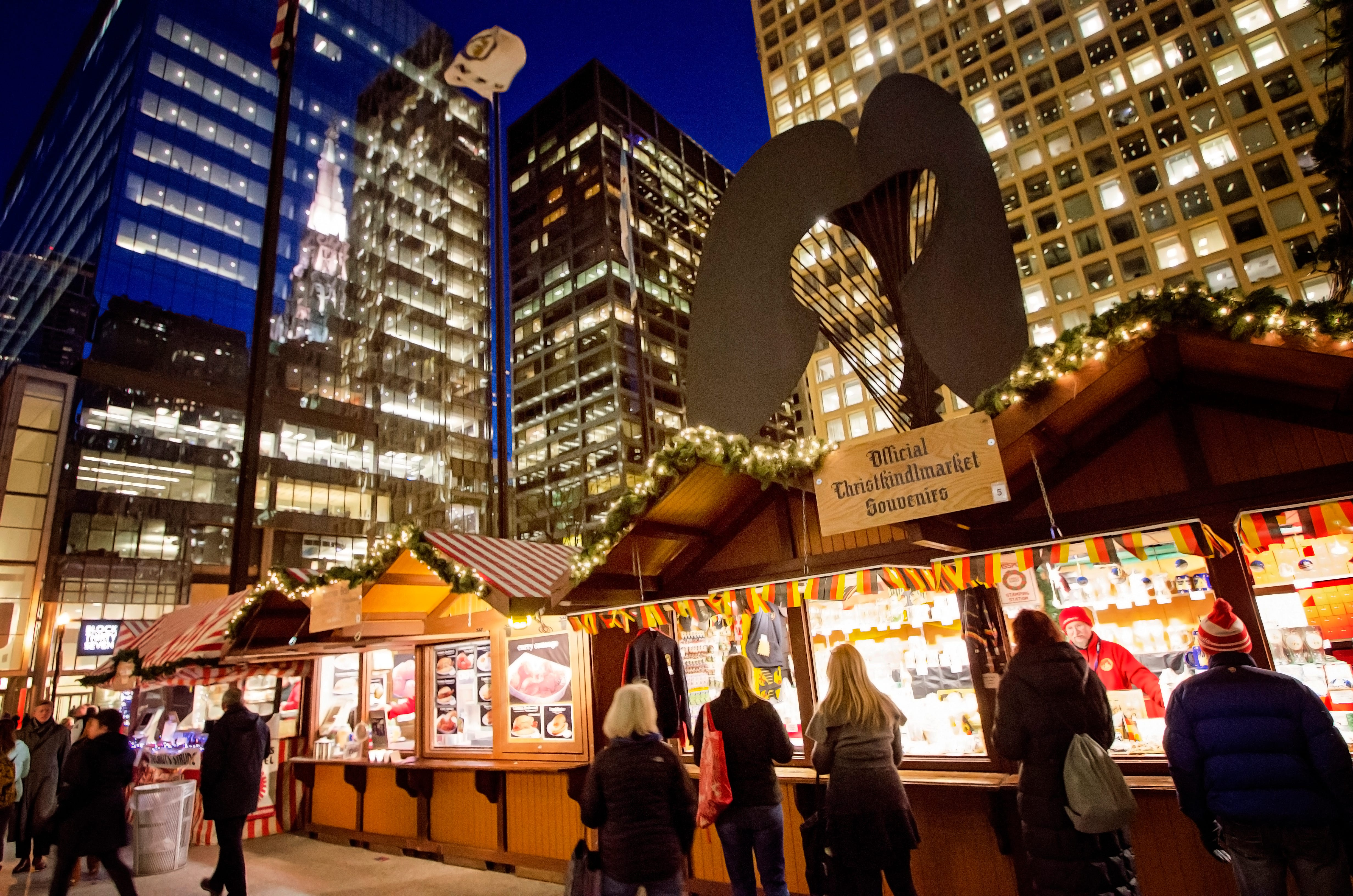 Chicago's Christkindlmarket is coming to Milwaukee, right in front of Fiserv Forum.