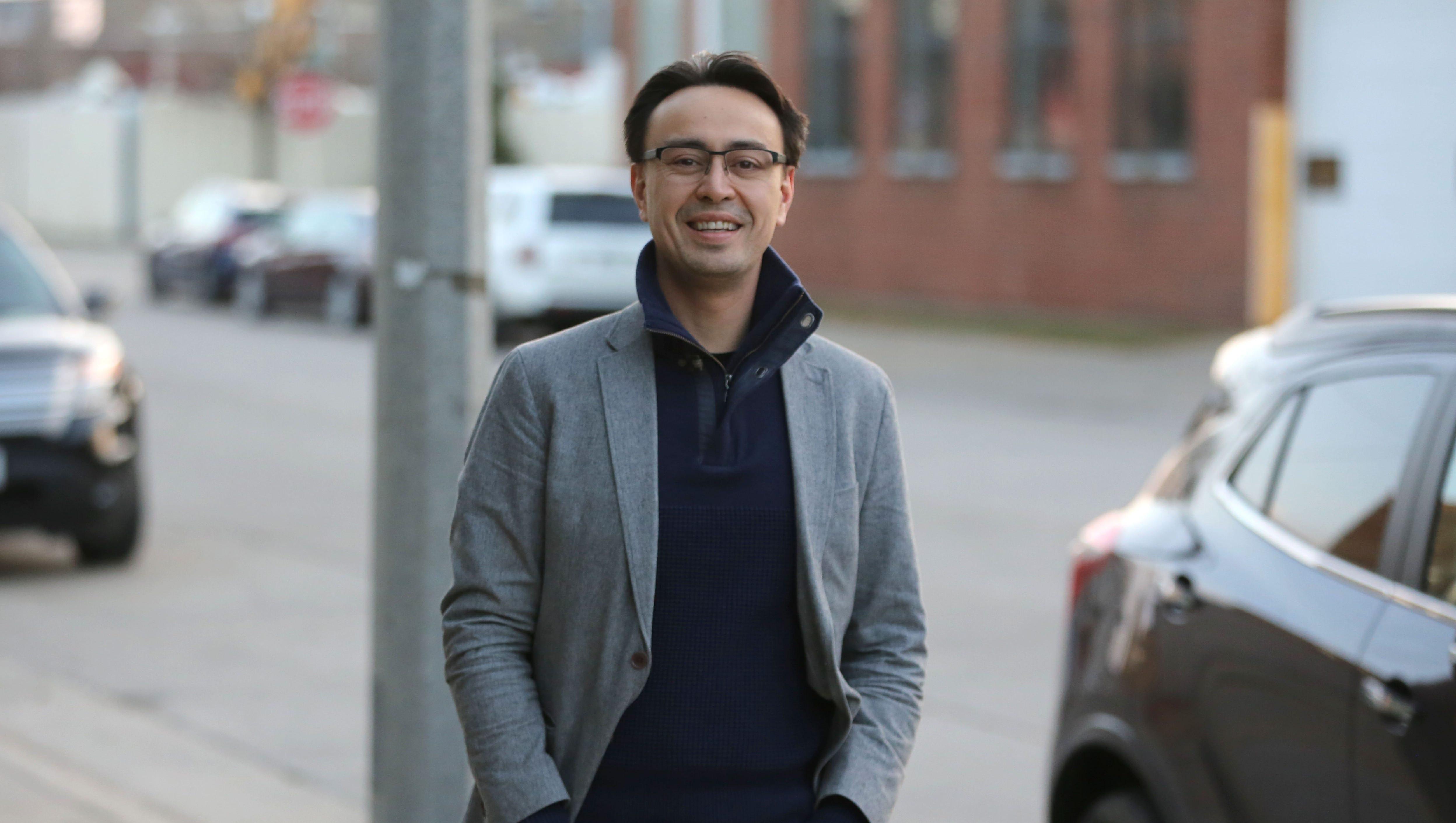 Ken-David Masur, 41, is the Milwaukee Symphony's...