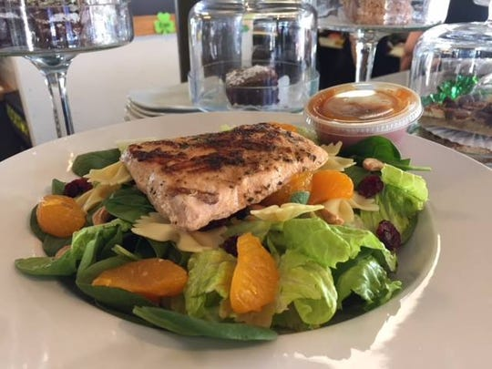Dockside Deli also offers a wide variety of salads.