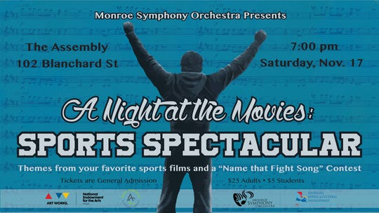 Monroe Symphomy's Sports Spectacular is Saturday.