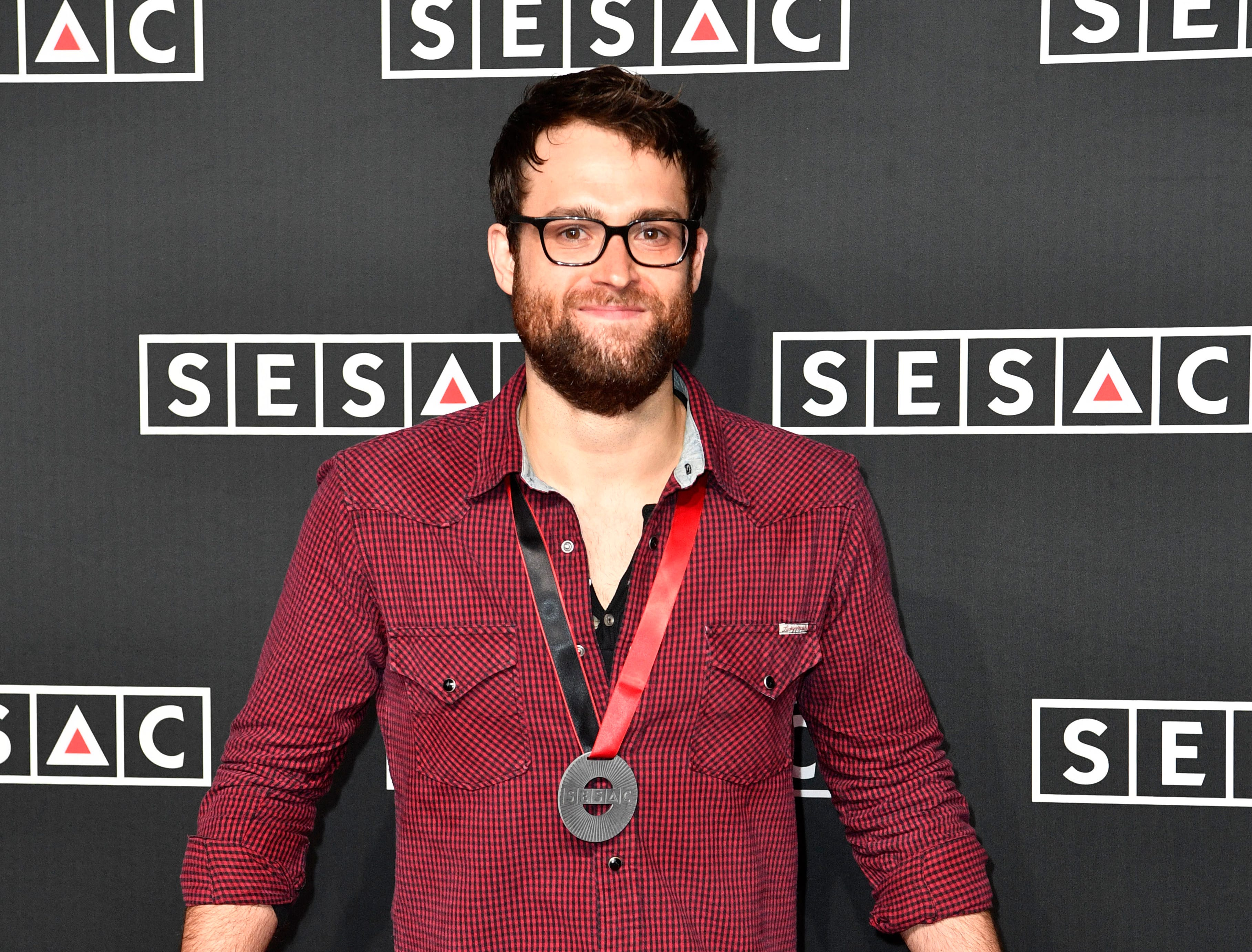 Sammy Mitchell on the red carpet at the SESAC Nashville Music Awards at the Country Music Hall of Fame and Museum Sunday Nov. 11, 2018, in Nashville, Tenn.