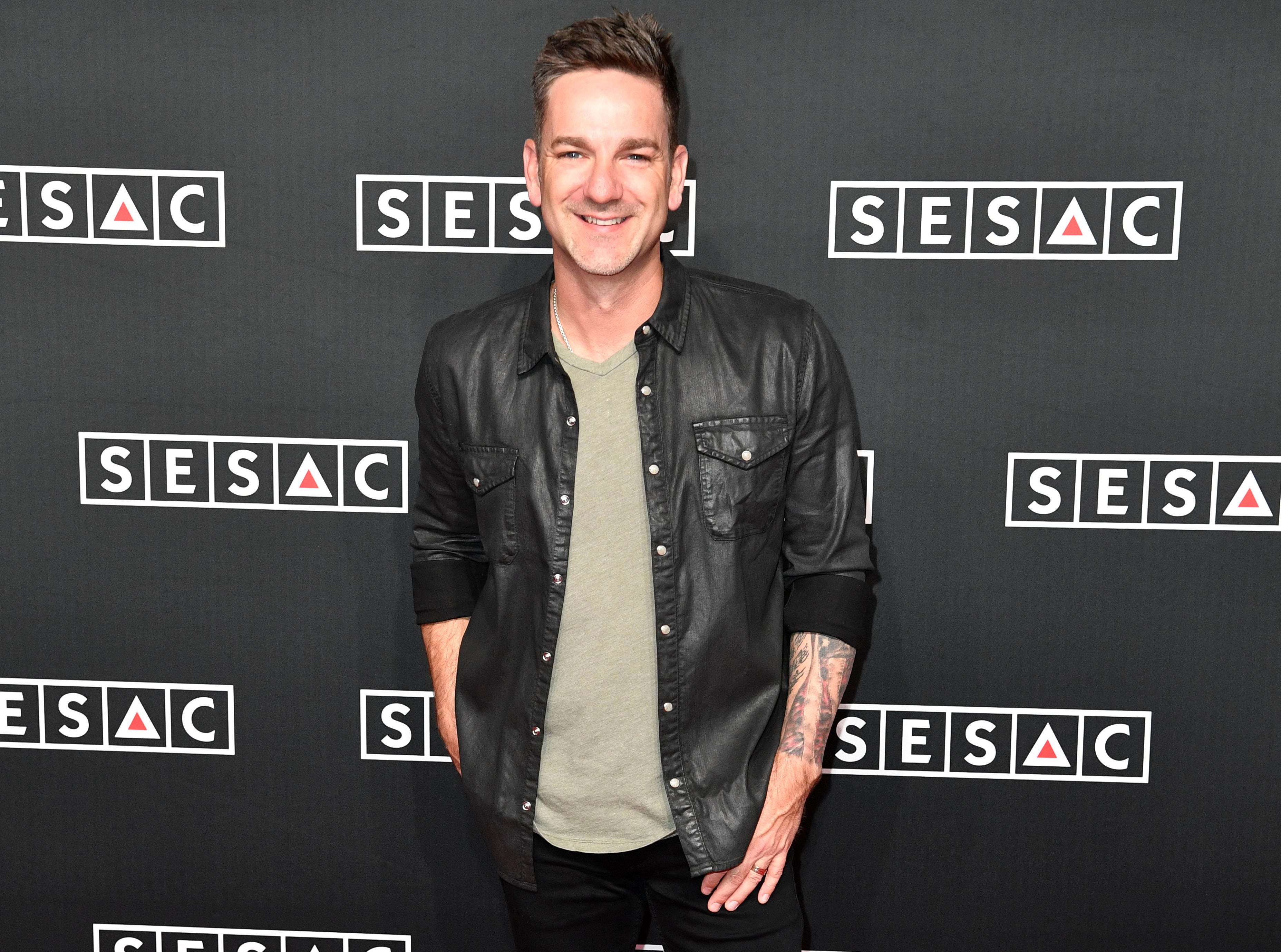 Craig Campbell on the red carpet at the SESAC Nashville Music Awards at the Country Music Hall of Fame and Museum Sunday Nov. 11, 2018, in Nashville, Tenn.