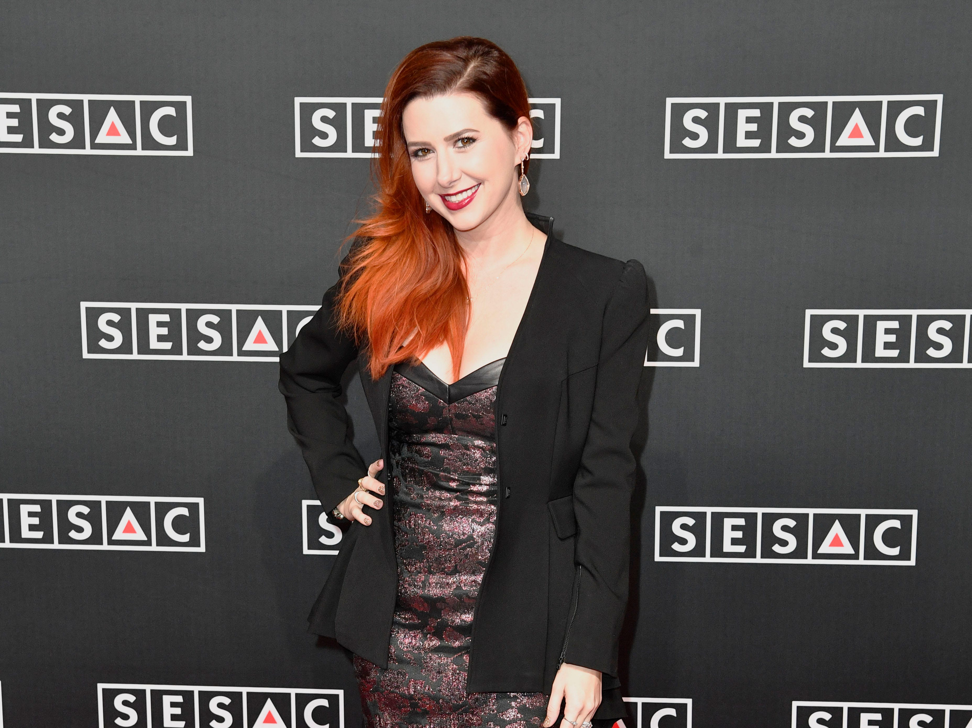 Jesse Lee on the red carpet at the SESAC Nashville Music Awards at the Country Music Hall of Fame and Museum Sunday Nov. 11, 2018, in Nashville, Tenn.