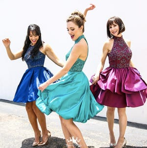 """Courtney Reed, left, Laura Osnes and Susan Egan will perform Disney classics in """"Broadway Princess Party."""""""