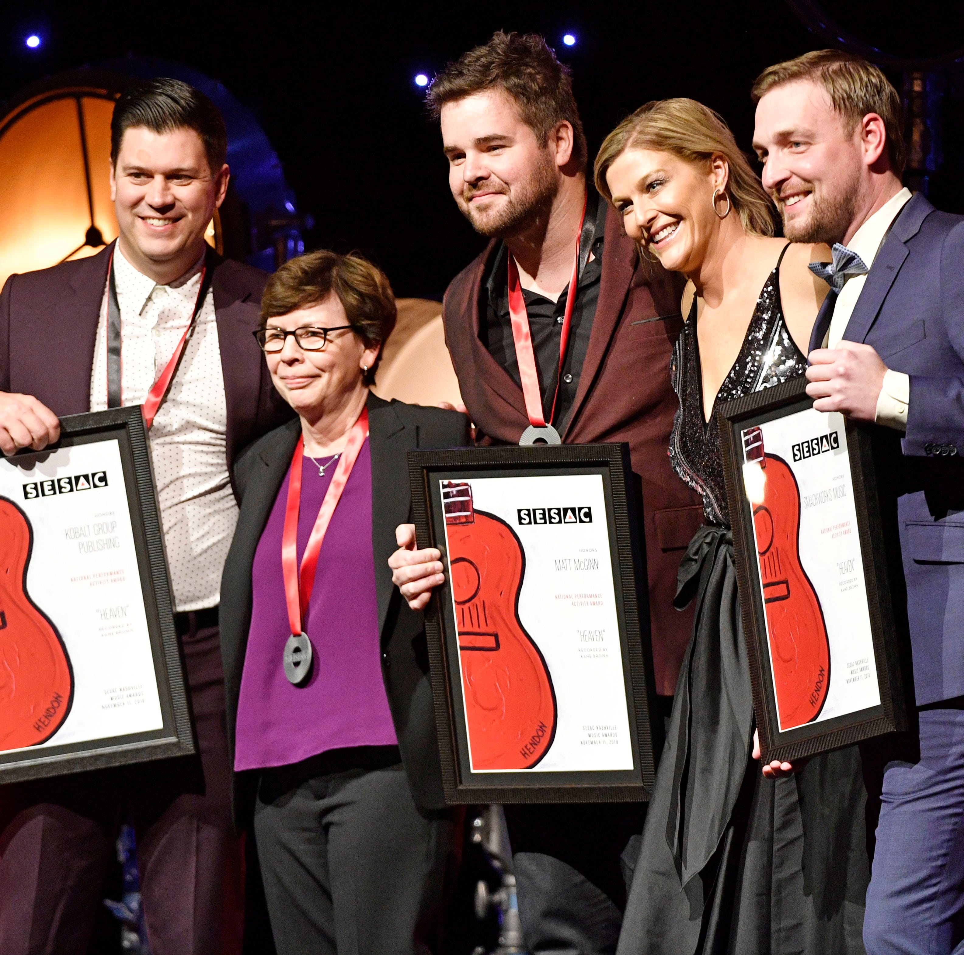 SESAC Nashville Awards: Matt McGinn named Songwriter of the Year