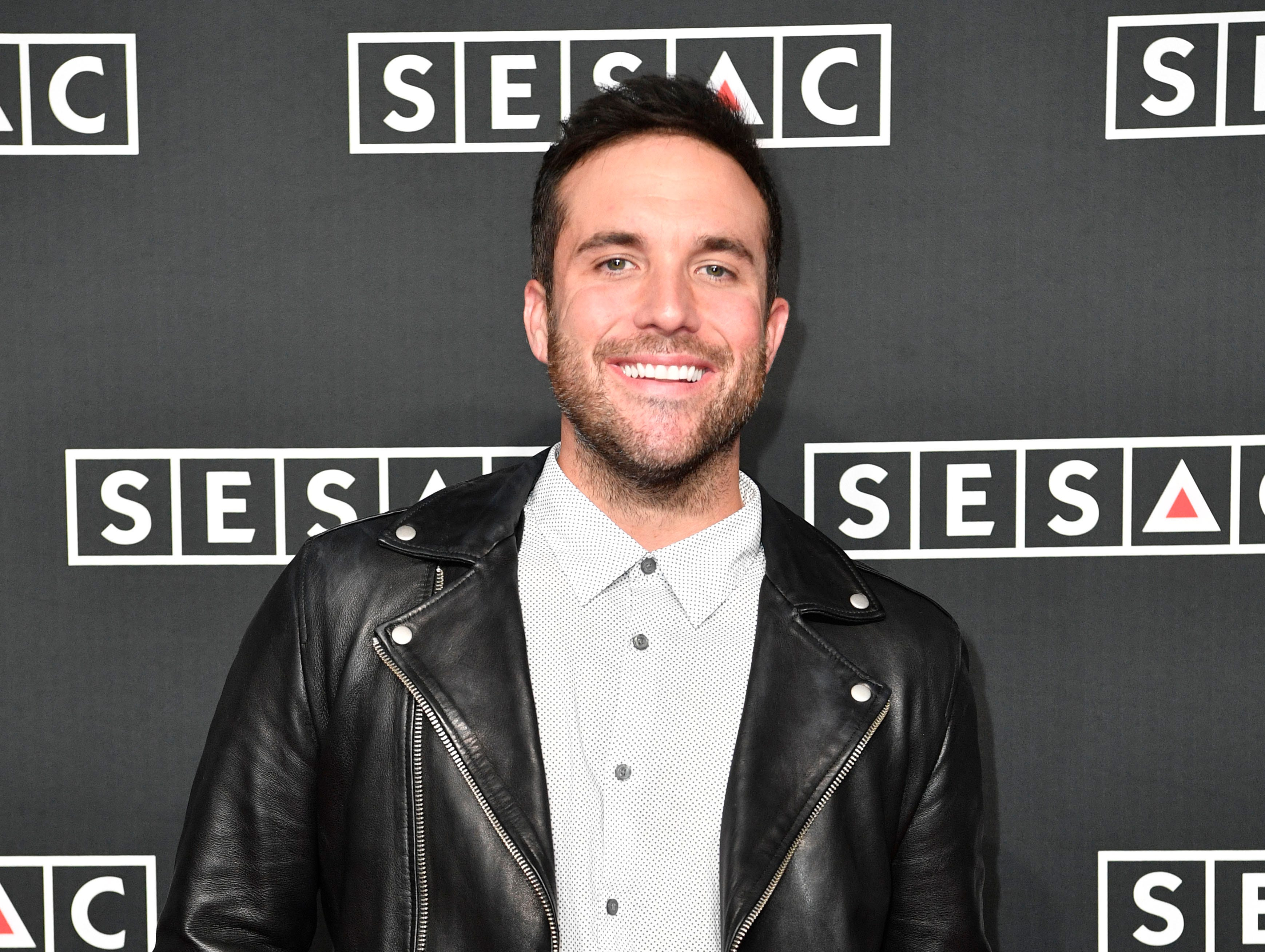 Tyler Rich on the red carpet at the SESAC Nashville Music Awards at the Country Music Hall of Fame and Museum Sunday Nov. 11, 2018, in Nashville, Tenn.