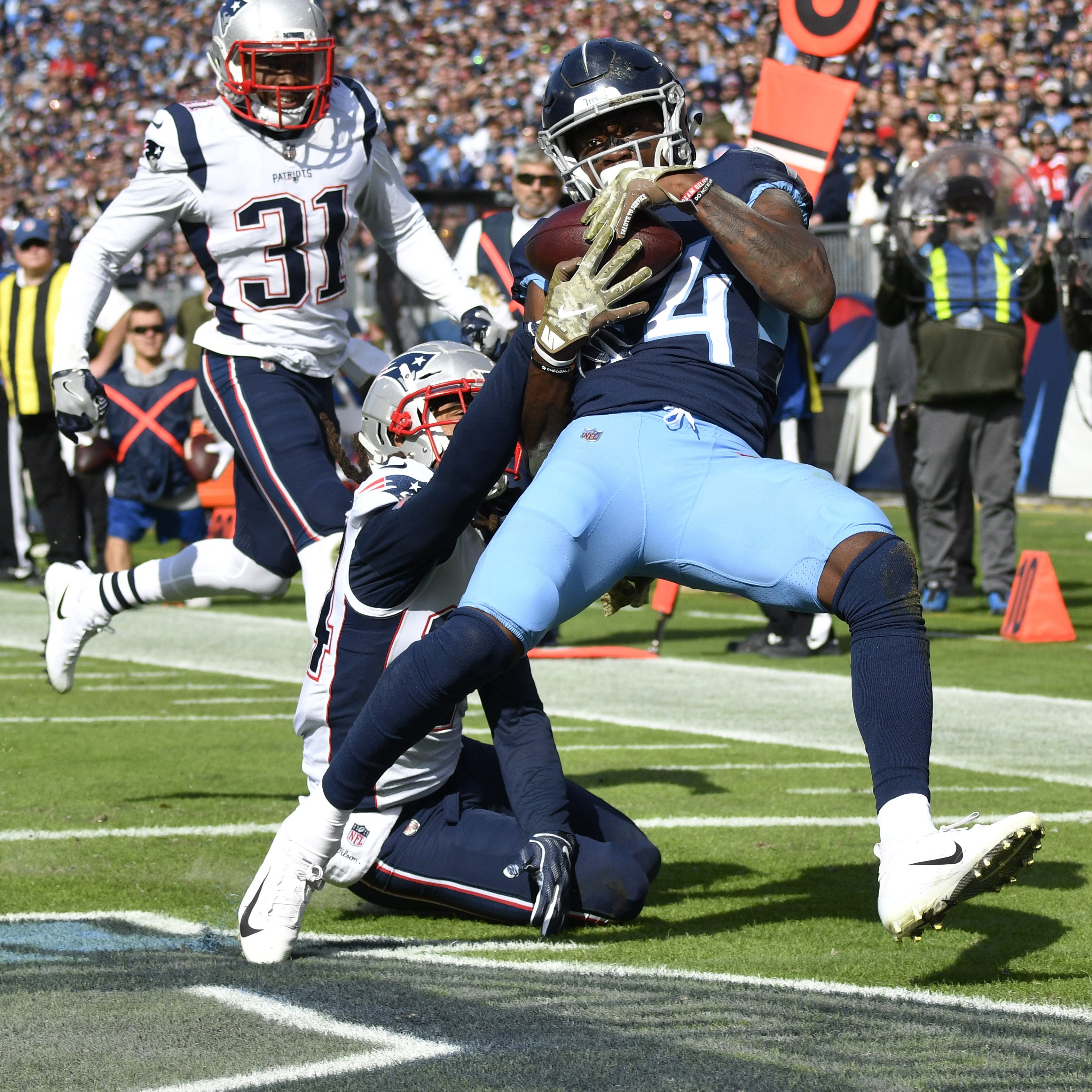 NFL power rankings: Titans make big jump after win over Patriots
