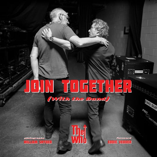 """A new coffee table book on The Who titled """"Join Together"""" covers the legendary band's career."""