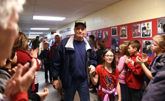 Etna Elementary Veterans Day Event