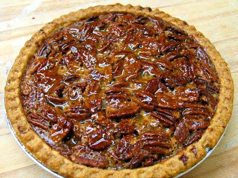 The classic pecan pie, courtesy of Francesca's Bakery in Pequanock.
