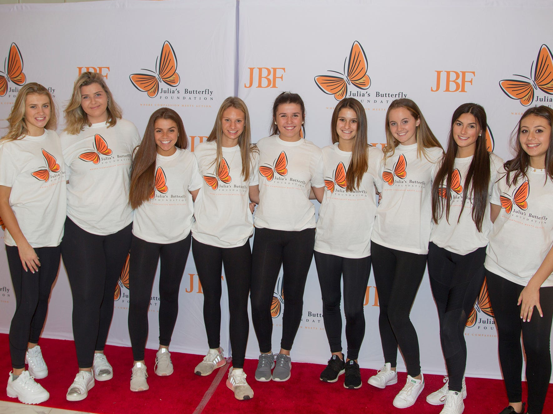 IHA Girl volunteers. The 13th annual Julia's Butterfly Foundation Ball at Macaluso's in Hawthrorne. Julia's Butterfly Foundation is a volunteer 501 (c) 3 organization whose mission is to provide assistance to families of chronically and terminally ill children to improve their quality of life. 11/11/2018