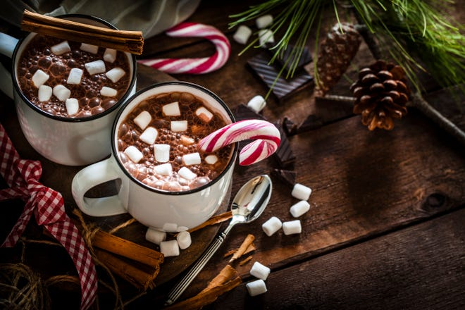 The holiday season is the perfect time to enjoy a delicious cup of hot cocoa.