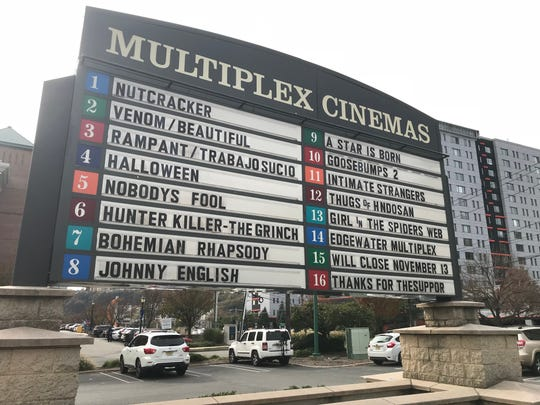 The Multiplex Cinemas in Edgewater is closing on Nov. 13.