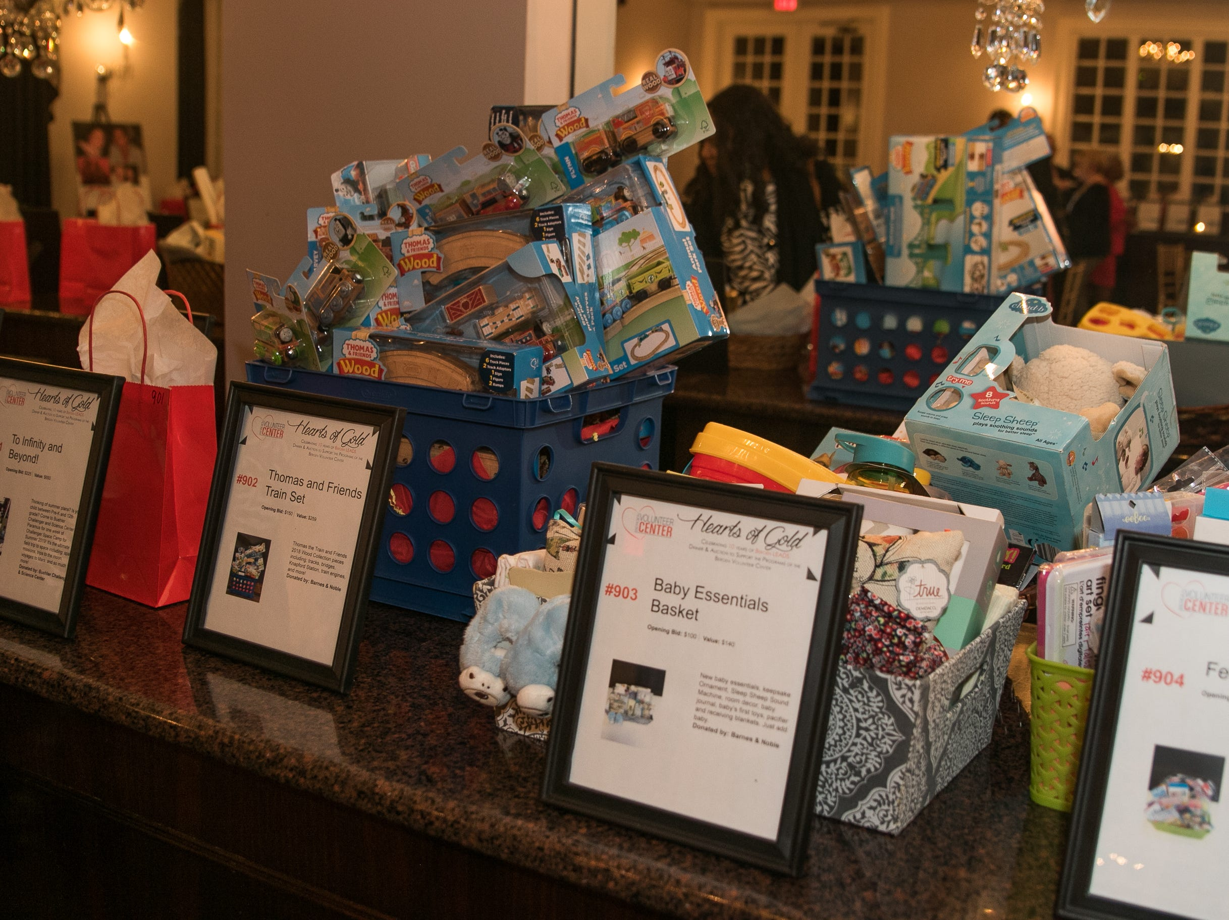 The Bergen Volunteer Center celebrated its 10th anniversary of the Bergen LEADS program at The Hearts of Gold Dinner and Auction at the Stony Hill Inn in Hackensack. 11/08/2018