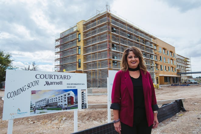 Amy Miller, a 1996 graduate of the School of Hotel, Restaurant and Tourism Management at New Mexico State University, has been named general manager of the Courtyard by Marriott that's being on NMSU property. The hotel is expected to open next year.