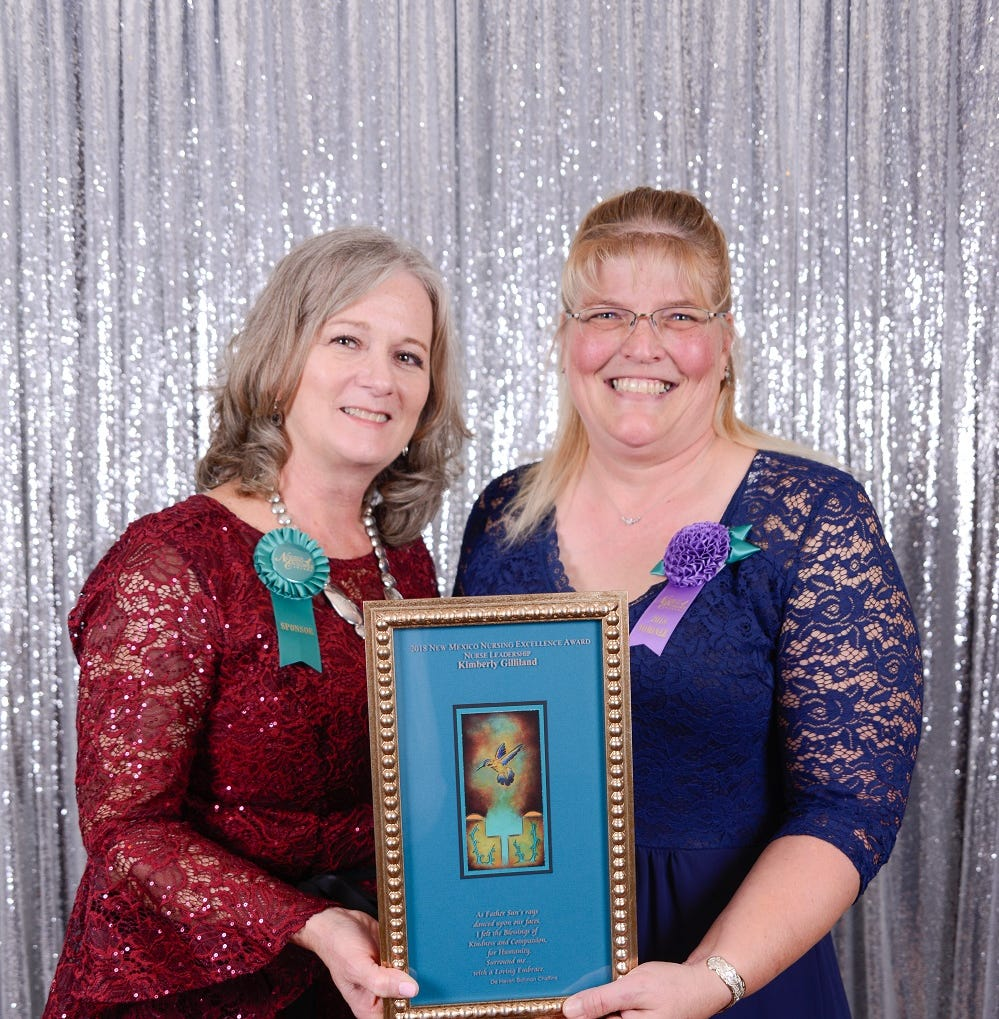 Lincoln County nurse receives high Honor