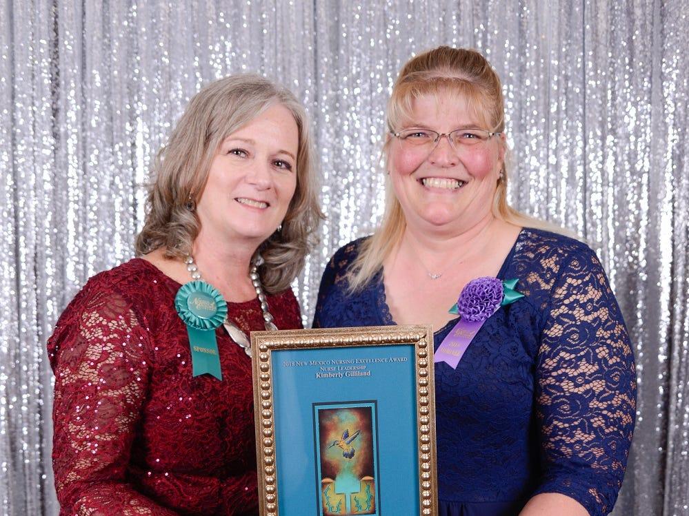 Lincoln County nurse receives high Honor