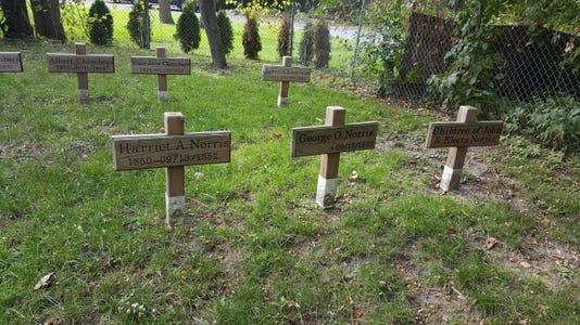 LIV 1 cemeteries