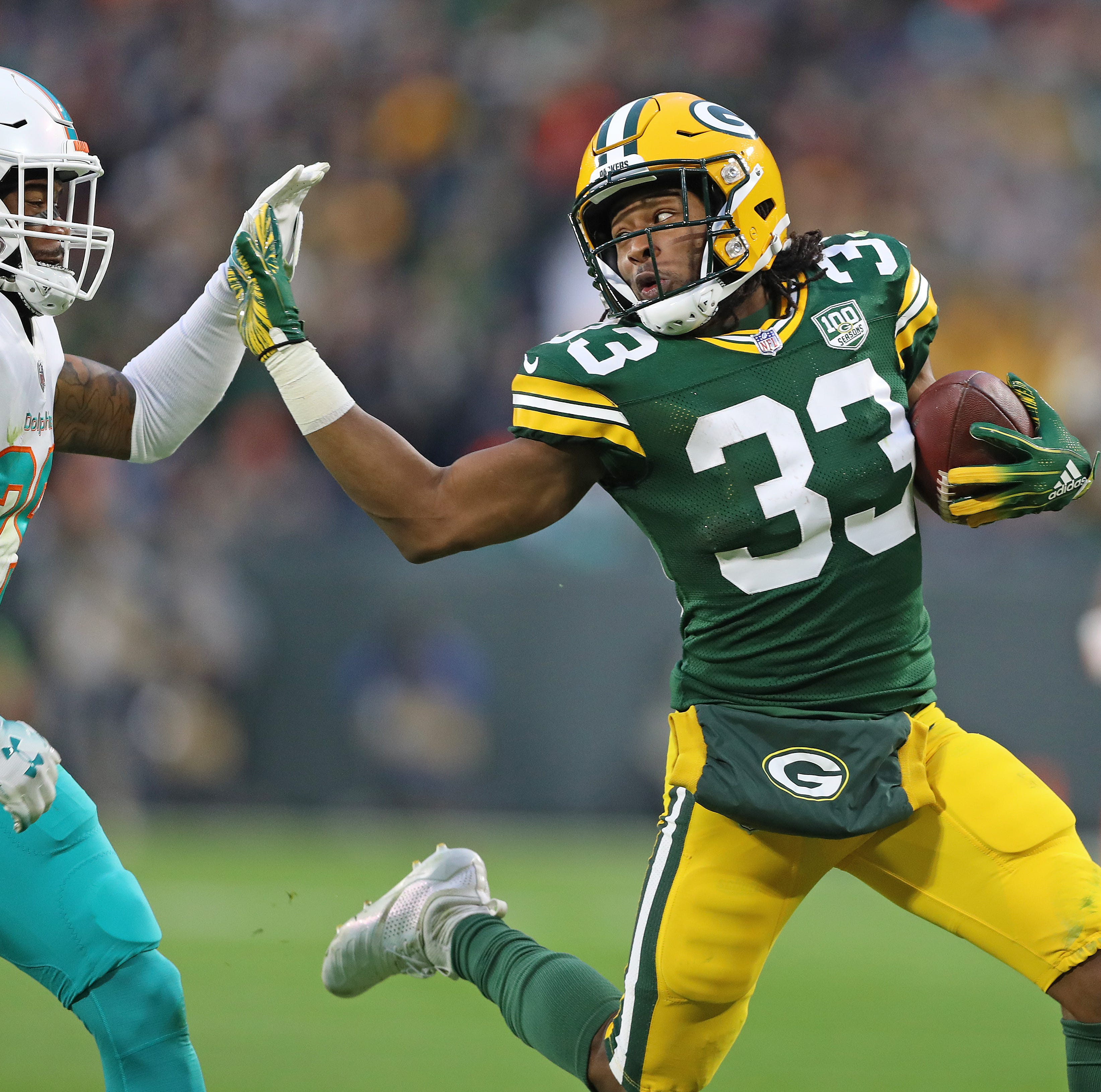 Analysis: Packers' Aaron Jones can find holes that others miss