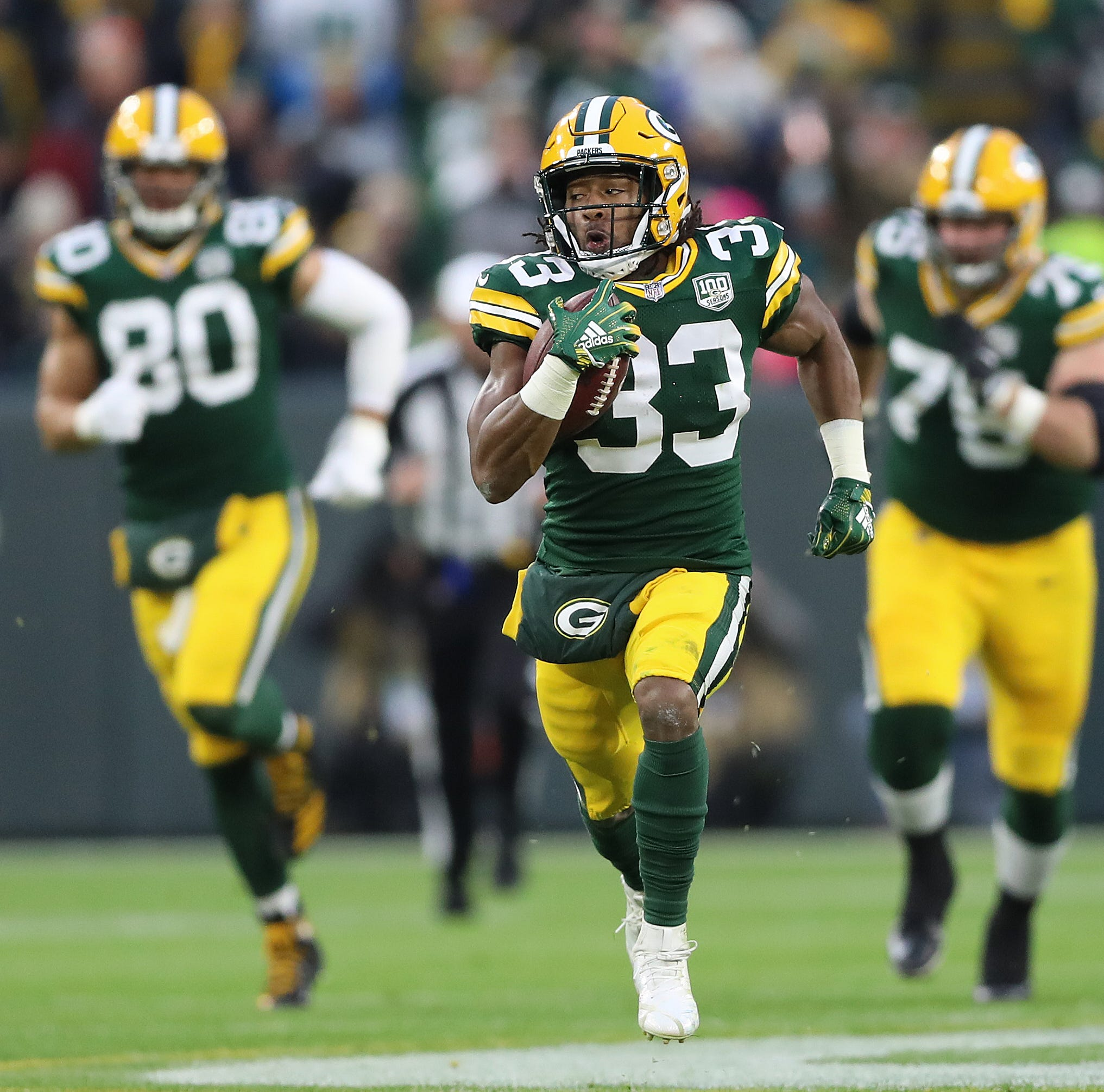 Silverstein: Packers can make statement by running down Seahawks