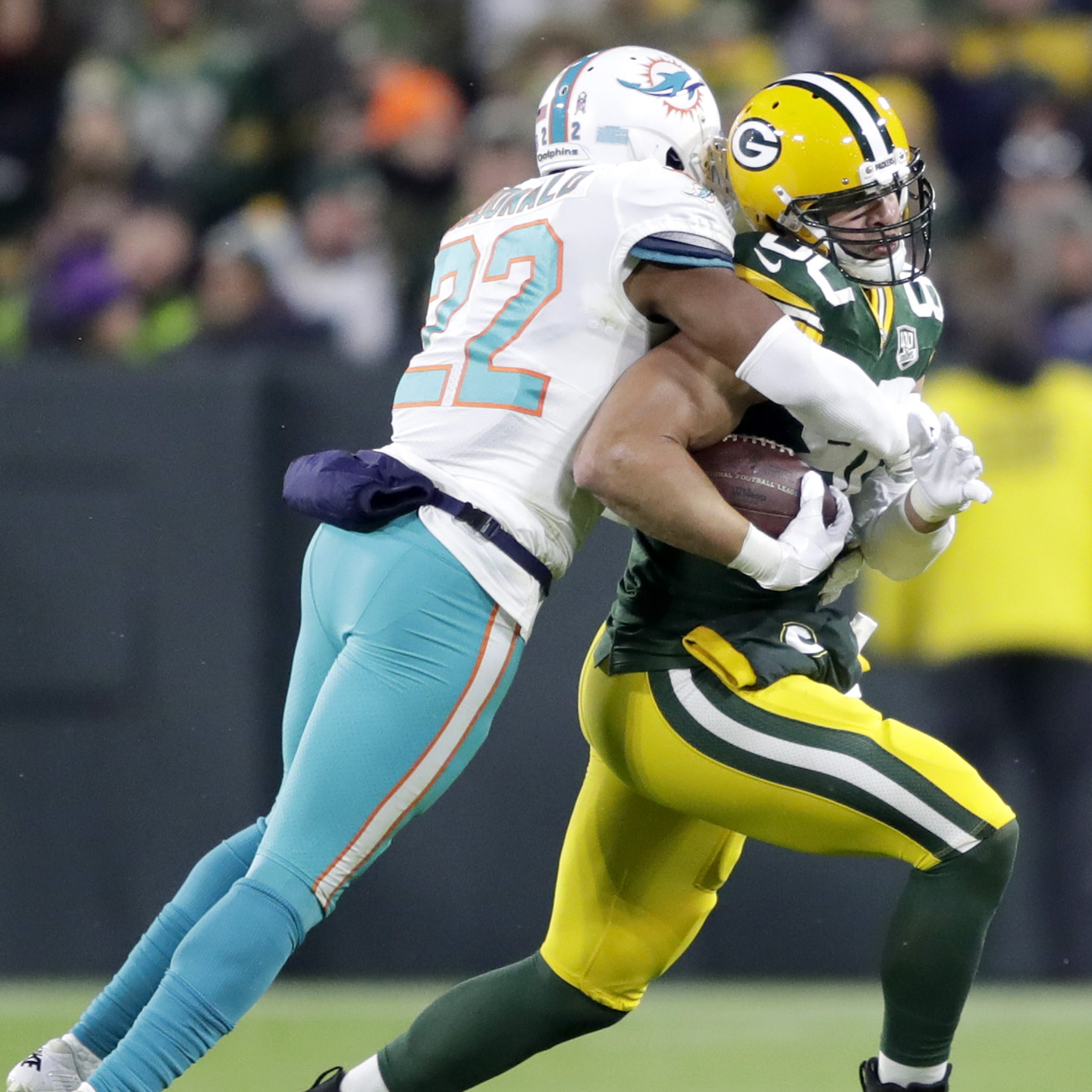 Packers notes: Jimmy Graham takes pride in run-blocking ability