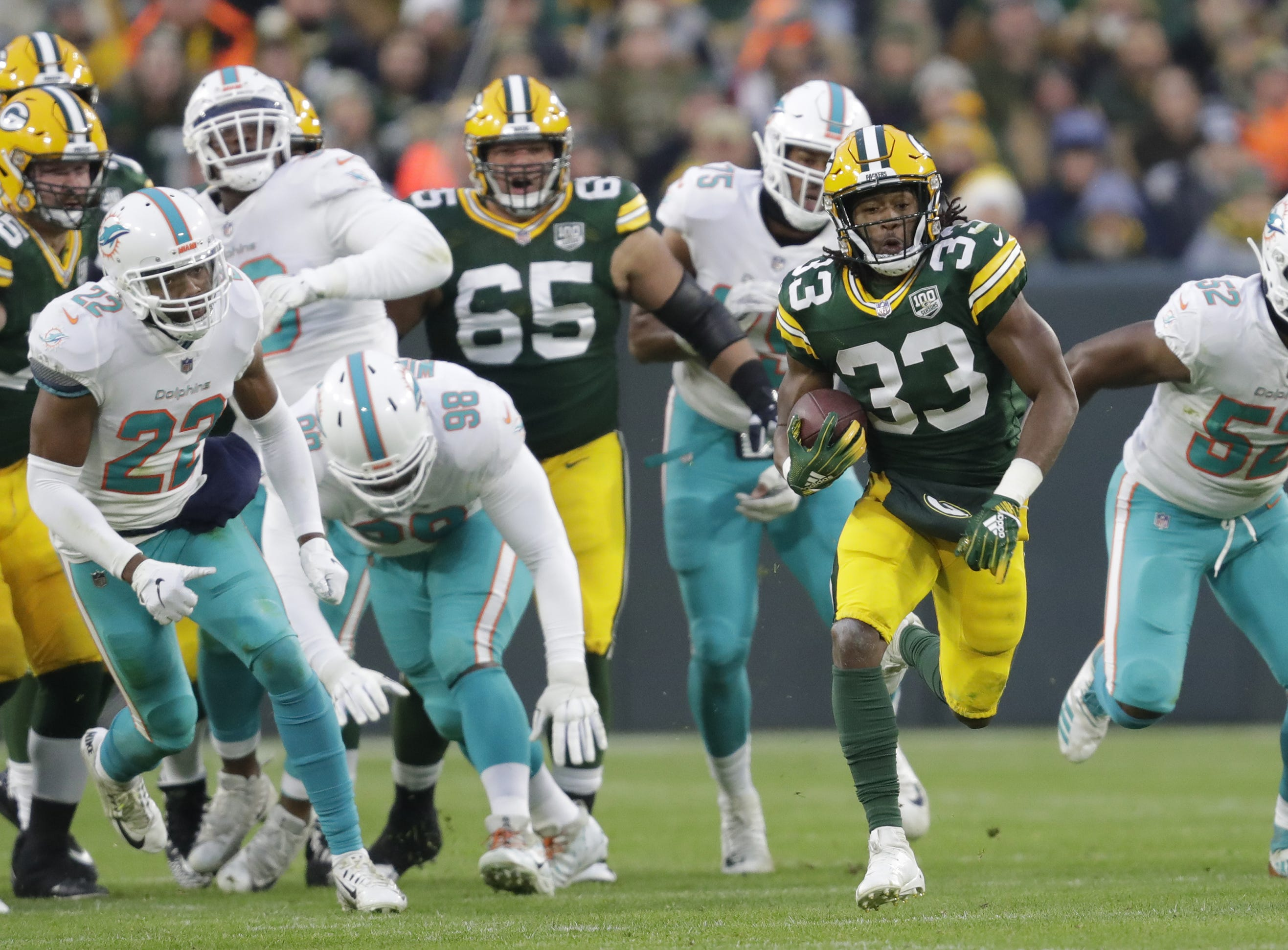 Packers Morning Buzz: Aaron Jones' injury history a red flag