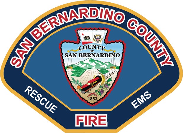 San Bernardino County Fire Department logo