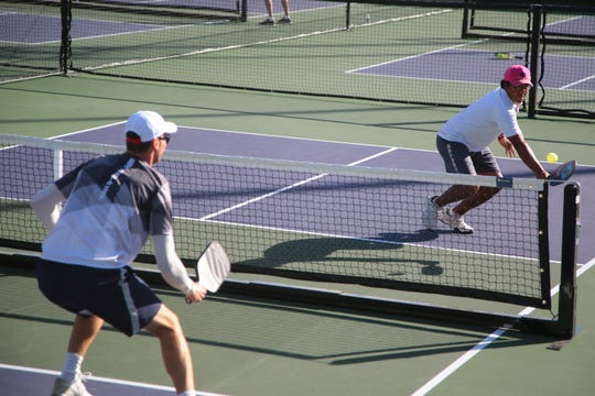 The 2018 Margaritaville USA Pickleball National Championships is held at the Indian Wells Tennis Garden, Sunday, November 11, 2018.