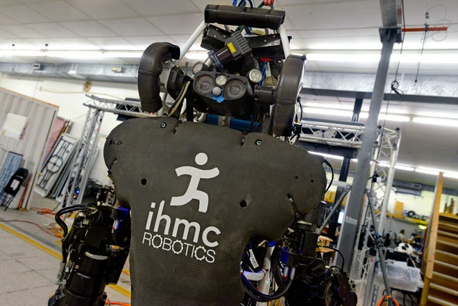 A robot at the Institute for Human and Machine Cognition